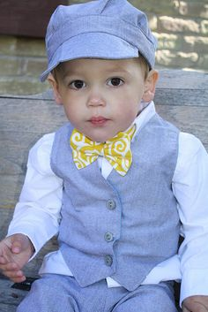 Ringbearer  Aiden will def need a bowtie
