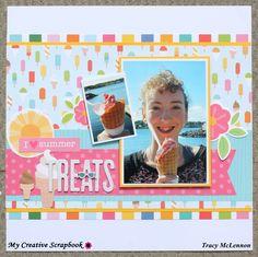 I Love Summer Treats - Scrapbook.com