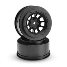 Front Hazard Wheel, Black (2) :2WD Slash by JCONCEPTS INC. $8.73. This is a pair of JConcepts Hazard Wheels (Black) for Traxxas Slash Front. A powerful new look that combines the winning combination of a 10 spoke design, bead-lock appearance and center lug nut detail with a hint of inspiration from yesteryear.