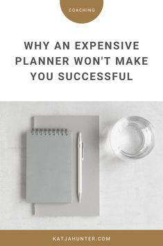 An expensive planner won't make you successful. It not the type of planner that make you seccessful, but whether you keep working towards your goal. Work Planner, Goals Planner, Types Of Planners, Kaizen, Post Date, Setting Goals, Creative People, Self Development, Coaching