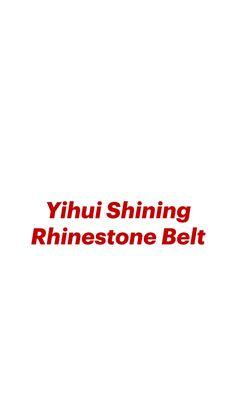 Rhinestone Belt, Cool Designs, Leather