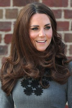 Kate Middleton Hair, Hairstyles & Makeup Photos (Glamour.com UK)
