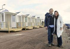 Beach huts set to expand
