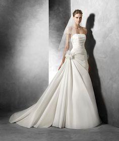 Semilla, abito da sposa originale in dupion