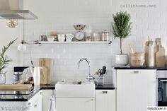 keittiö,valkoinen,sisustus,boheemi