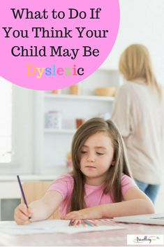 """There's a common misconception about dyslexia—that it involves """"backward reading"""" or """"mirror reading."""" Reversing letters isn't always a sign of dyslexia, and lots of little kids who don't have the disorder write their letters backwards, too. Instead, dyslexia is an """"unexpected difficulty in reading for an individual who has the intelligence to be a much better reader,"""" #dyslexia #whatif #think #child #mychild"""