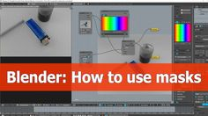In this Blender composition video tutorial I show how to use masks in the compositor for an image. I will desaturate an image using the Hue Correct node in t...
