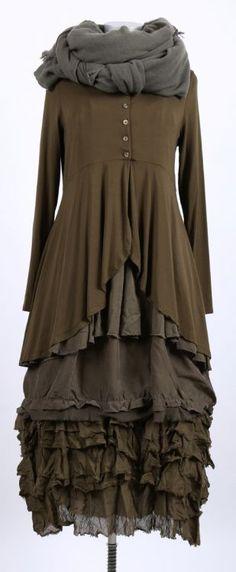cocon commerz privatsachen - Trägerkleid aus Wäscheseide hopfen - Sommer 2015