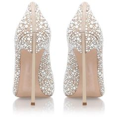 Casadei Blade Jewelled Court Shoes (£900) ❤ liked on Polyvore featuring shoes, pumps, casadei shoes, stiletto heel pumps, pointy toe stiletto pumps, high heel stilettos and pointed toe pumps