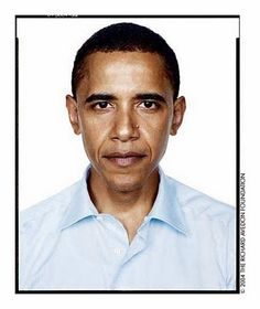 Barack Obama was one of Avedon's last subjects, captured in 2004 for a project called Democracy.