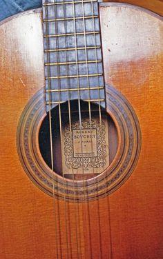 Classical Guitar by Robert Bouchet – $122,500