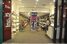 Inc. 5 provides a good range of footwear for men and women. Formal pairs from leading national brands are also stocked including its home grown labels that allow for good selection and various price points .