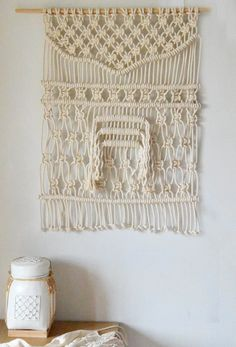 Macrame wall hanging by RanranDesign on Etsy