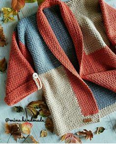 Crochet Cardigan Pattern, Knit Cardigan, Crochet Crafts, Knit Crochet, Knitting Patterns, Crochet Patterns, Vogue Knitting, Knitting Videos, Knit Fashion