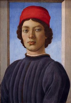 Filippo Lippi (1406-1469, Italy) | Portrait of a Youth, 1485 (Washington, National Gallery of Art)