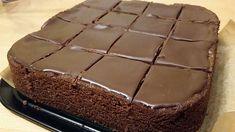 Chocolate cake like in McCafe - Kuchen, Torten, Backrezepte - Cake Recipes Easy Cake Recipes, Sweet Recipes, Baking Recipes, Cookie Recipes, Dessert Recipes, Chocolate Low Carb, Best Chocolate, Chocolate Recipes, Cake Chocolate