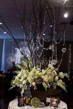 Floral design and concept by Dana's Floral Design, Prattville, AL.