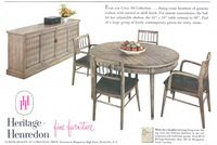 Heritage Henredon Dining Room 1956 Ad Picture Advertisement Gallery · Heritage Henredon Furniture