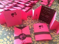 nayive@torresdepapel.co: Invitaciones Barbie Cumpleaños Vintage Barbie Party, Barbie Theme Party, Barbie Birthday Party, Birthday Party Themes, 3 Year Old Birthday Party, 7th Birthday, Barbie Paris, Barbie Invitations, Mickey Drawing