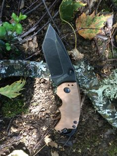 The new Kershaw 8750 TTANBW tan blackwash Shuffle 2