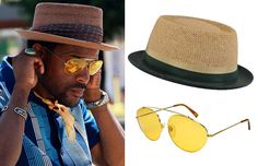 Support the summer fedora with extra accessories