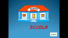 ITALIAN VOCABULARY : THE TOWN  - Vocaboli italiani : LA CITTA' - ITALIAN...