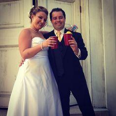 Congrats Annie & Chris!  #lovebirdsevents #redsolocup #annieandchris