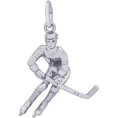 Rembrandt Hockey Player Charm