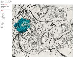 1000 images about james jean on pinterest james jeans for Chest mural tattoos