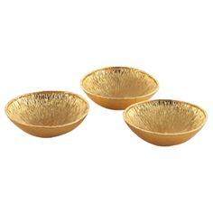 Michael Aram, Lemonwood Dish Set Of 3, £87. via Heal's.