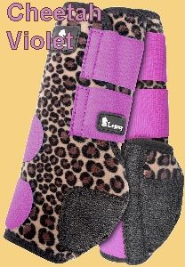 Classic Equine® Legacy System Front and Hind Boots - Cheetah pattern available with pink or turquoise velcro Horse Boots, Horse Gear, Horse Tips, Horse Saddles, My Horse, Barrel Racing Horses, Barrel Horse, English Horse Tack, Western Horse Tack