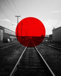 Saved by Richie Kim (richieswims). Discover more of the best Richieswims, Tracks, Photo, and Red inspiration on Designspiration Geometric Photography, Photography Logos, Typography Inspiration, Graphic Design Inspiration, Design Creation, Red Images, Red Dot Design, Print Design, Japanese Graphic Design