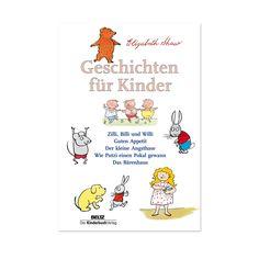 Elisabeth Shaw begeisterte Millionen Kinder mit ihren Büchern.Hier ein Buch mit Zilli, Billi und Willi,dem kleine Angsthase, Putzi und dem Bärenhaus. Neue Heimat (nicht nur) für ostdeutsche Kinderbuchklassiker
