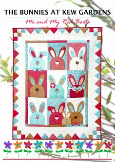 (7) Name: 'Quilting : The Bunnies at Kew Gardens