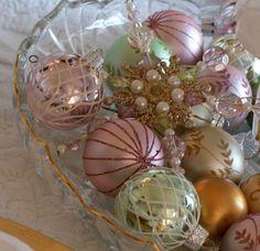pastel ornaments