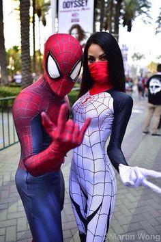 Silk and Spidey