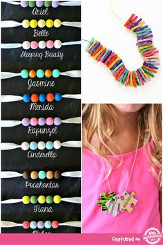 DIY Necklaces and Accessories For Kids