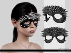 Spiked Mask - Leah Lillith