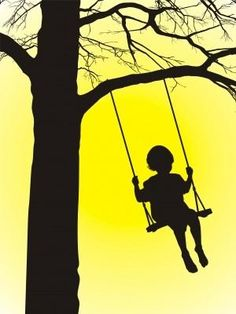 Tree Swing....past memories of Yesterday are cherished Today and will remember Tomorrow