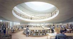 Galeria de Herzog & de Meuron divulga novas imagens da Biblioteca Nacional…