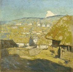 VILLAGE IN THE HILLS Alois Kalvoda