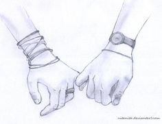 Couple Holding Hands Drawings Tumblr