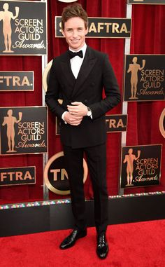 Eddie Redmayne from 2015 SAG Awards Red Carpet Arrivals | E! Online…YES…Another win on Fashion for Eddie…