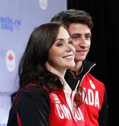 Tessa Virtue & Scott Moir Silver team skating Canada Sochi 2014