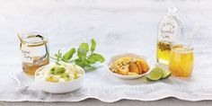 MICHELLE CRANSTON:  Passionfruit and lime syrup