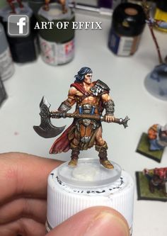 Conan (Monolith) painted by Art of Effix