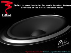 All New Focal Integration Series Car Audio Speakers in Stock Now!!