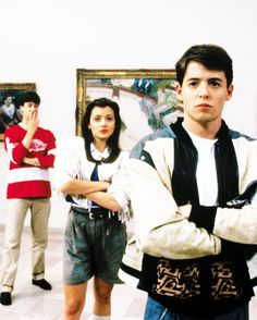 Even though I wasn't born yet, I still watched a lot of Ferris Bueller in my childhood.