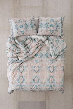 STYLISH 3D TEXTURE LOOK ANIMAL PRINTED BUTTERFLY TEAL DOUBLE DUVET QUILT COVER