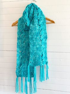 Cush Cables Scarf Digital Pattern Wrist Warmers, Crochet Accessories, Digital Pattern, Double Crochet, Crochet Stitches, Mittens, Shawl, How To Make, How To Wear
